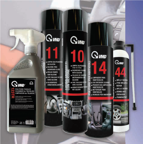 Complete range for cleaning your vehicles